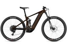 Elektrokolo Ghost E-Riot Trail CF Advanced B625 - Chocolate/Brown 2021 vel. S