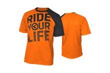Enduro dres KELLYS RIDE YOUR LIFE krátký rukáv orange - vel. L