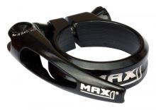 Sedlová objímka MAX1 Race 31,8mm rychloupínací černá