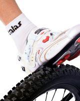 Ponožky KALAS ACC RACE SILVER bílá vel. 46-48
