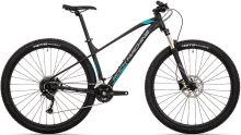 kolo Rock Machine Torrent 30-29 mat black/dark grey/petrol blue 2021