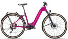elektrokolo ROCK MACHINE CrossRide INT e500 STePS lady touring gloss purple/pink 2021
