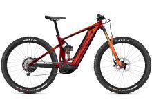 Elektrokolo Ghost E-Riot Trail CF Pro B625 - Dark Red/Orange 2021 vel. XL