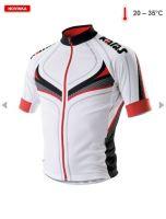 Cyklistický dres KALAS Titan X4 vel.3 červený