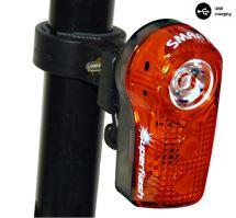 Blikačka zadní SMART 317 R 0,5W LED USB